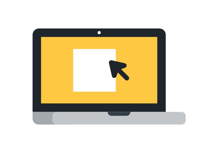 máster online laptop