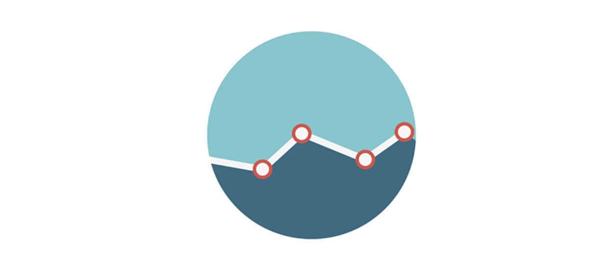 Gráfico línea con puntos
