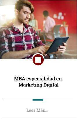 MBA especialidad en Marketing Digital