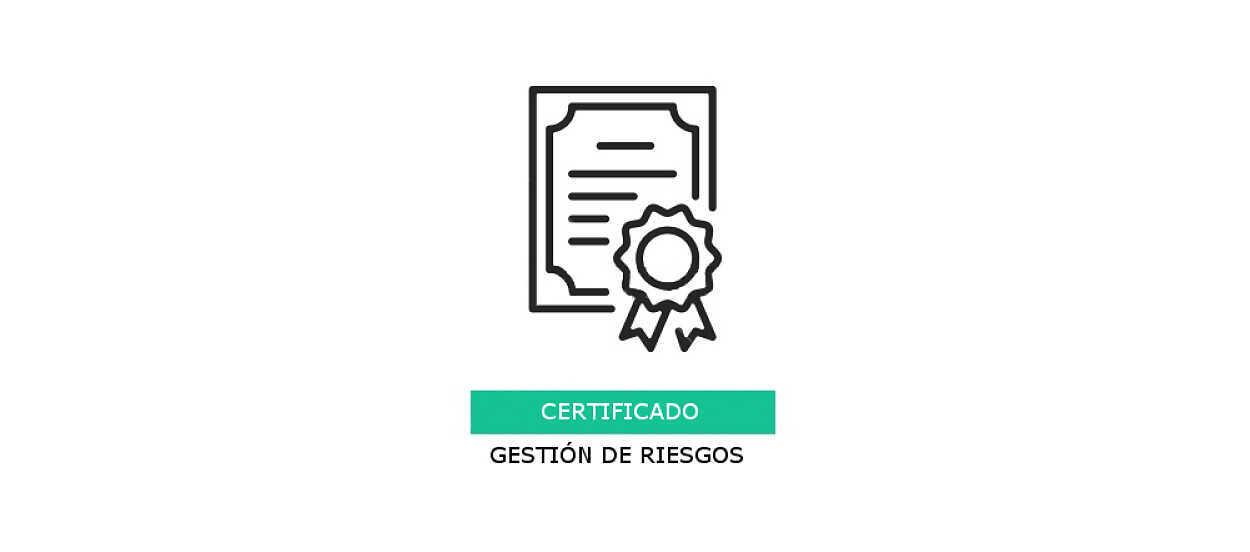 gestión de riesgos certificación rimap
