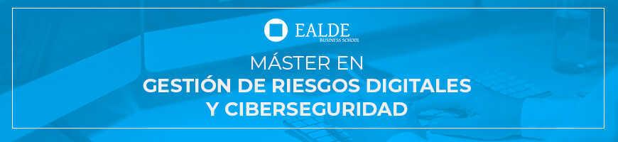 banner master en gestion de riesgos digitales y ciberseguridad