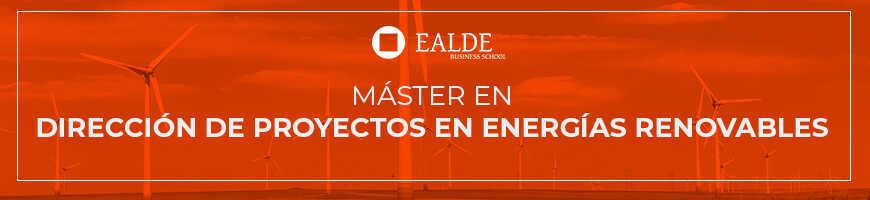 banner máster en dirección de proyectos en energías renovables