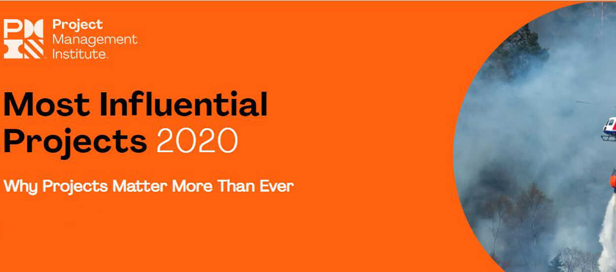 Conoce los proyectos más influyentes de 2020 según el PMI
