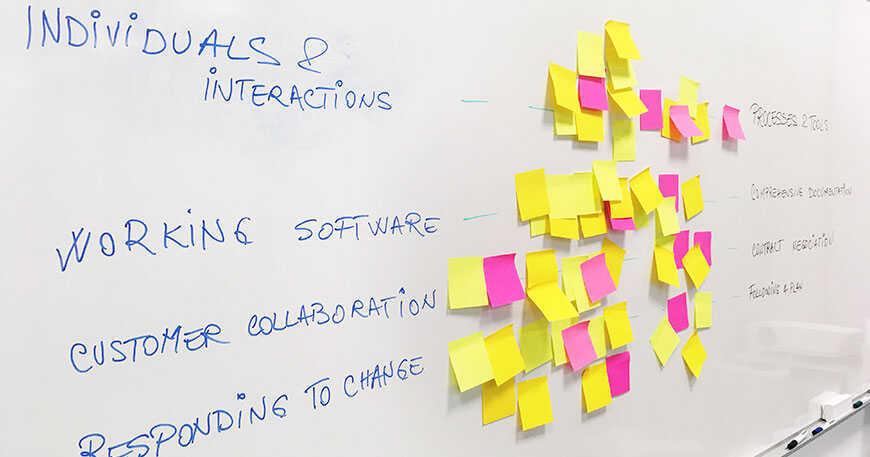 Utilidades de las metodologías ágiles para la gestión del cambio en proyectos