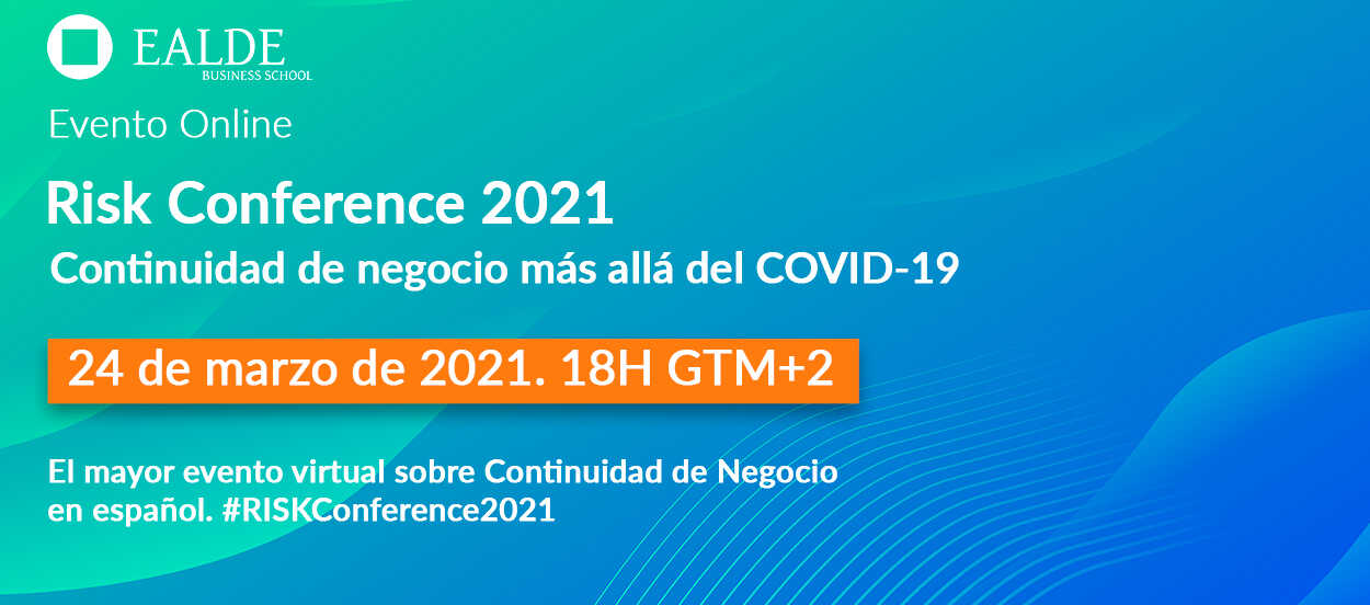 La Risk Conference 2021 se celebrará el 24 de marzo