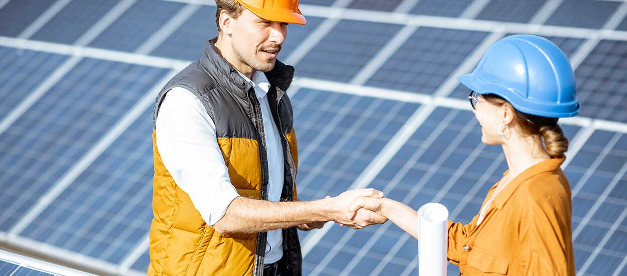 Las fusiones y adquisiciones se trata de una compra o venta de acciones en un proyecto solar
