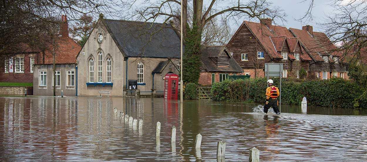 Los Impactos de los eventos disruptivos como inundaciones pueden llevar a grandes pérdidas económicas para una organización
